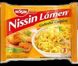 Miojo Nissin Lamen Galinha Caipira