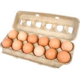 Ovos Expressos Brancos Com 12 Und
