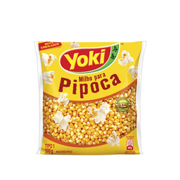 Milho Pipoca Yoki Tipo 1 500 g