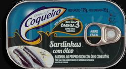 Sardinhas Coqueiro Azeite 125 g