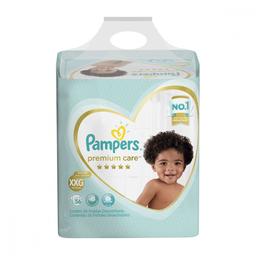 Pampers Fralda Premium Care Tam Xxg Pacote Hiper 56 Descartáveis