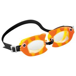 Óculos De Natação Bichinhos Animados Peixe Laranja Intex