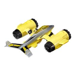 Avião Hot Wheels Strato Stormer Amarelo Mattel