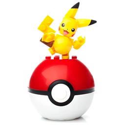 Blocos De Montar Mega Construx Pokémon Pokebola Sortido Mattel