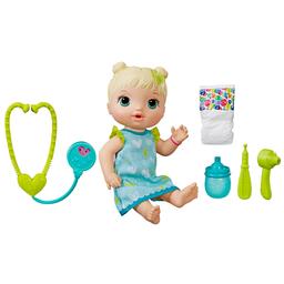 Boneca Baby Alive Cuida De Mim Loira E5834 Hasbro