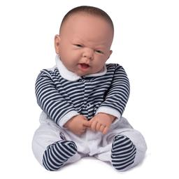 Boneca Bebê Ninos Reborn Boca Aberta Menino Cotiplás 50 cm
