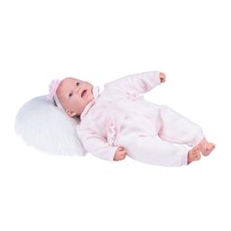 Boneca Bebê Ninos Reborn Dentinho Cotiplás 50 cm
