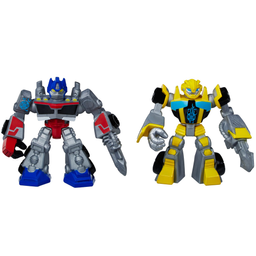Boneco Playskool Heroes Transformers Rescue Bots Optimus Prime E