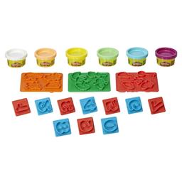 Conjunto De Massinhas Play-Doh Moldes De Números Hasbro