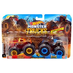 Conjunto De Veículos Hot Wheels Monster Trucks Spur Of The Momen