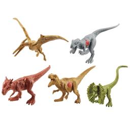 Conjunto Jurassic World 2 Pacote Com 15 Mini Dinossauros Mattel