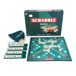 Jogo Scrabble Original Mattel