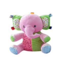 Pelúcia Infantil Animais Sentados Elefante Minimi