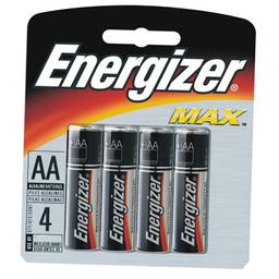 Pilha Energizer Aa Lr6 Pequena Cartela Com 4 Und