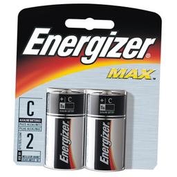 Pilha Energizer C Lr14 Média Cartela Com 2 Und