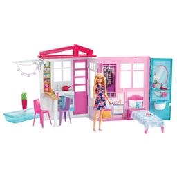 Playset E Boneca Barbie Casa Glamour Da Barbie Mattel