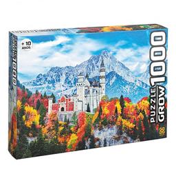 Quebra-Cabeça Castelo De Neschwanstein Grow 1000 Peças