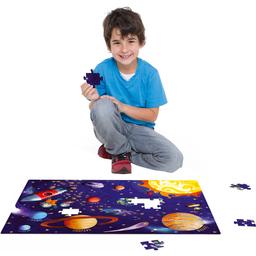 Quebra-Cabeça Grandão Conhecendo O Sistema Solar Toyster 120 Peç