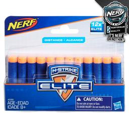 Refil De Dardos Nerf N-Strike Elite 12 Dardos Hasbro