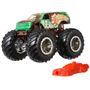 Veículo Die Cast Hot Wheels 1:64 Monster Trucks Smash-Squatch Ma