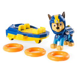 Veículo E Figura Patrulha Canina Seapatrol Chase Sunny