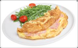 Omelete com Salada + Coca Cola Sem Açúcar 350 ml  30% off