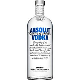 Vodka Absolut Natural - 1 L - Cód. 291569
