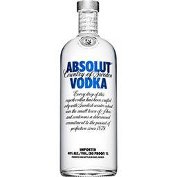 Vodka Absolut Natural - 1 L - Cód. 291569