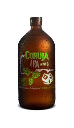 Cerveja Coruja Viva Ipa - 1 litro - cód. 288545