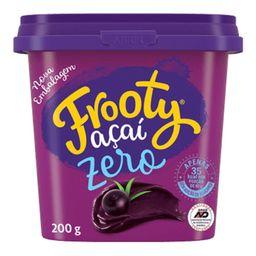 Açaí Frooty Zero Natural - 200g - Cód. 292108