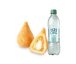 Coxinha + H2OH! Limoneto