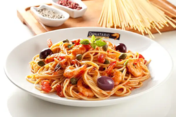 Espaguete Mediterrâneo