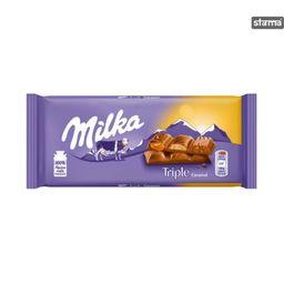 Chocolate Milka Triple Caramel 90 g - Cód.294447