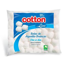 Algodão Bola Cotton Line Dia Dia Bco