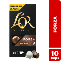 L'OR Cápsulas de Café Forza - 10 cápsulas