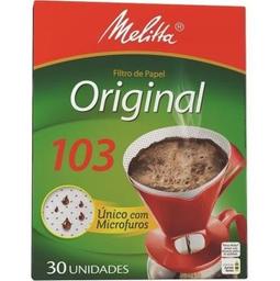 Filtro De Papel Melitta Nº103 30 Und