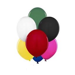 Bexiga Látex Happy Day Nº9 Colorido 50 Und