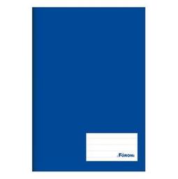 Caderno Brochurão Foroni Capa Dura Universitár 96 Fls Azl 1 Und
