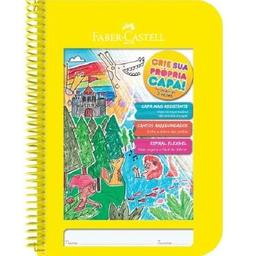Caderno Pedagógico Cria Faber Castell Cp Plásti 96 Fls Amr 1 Und