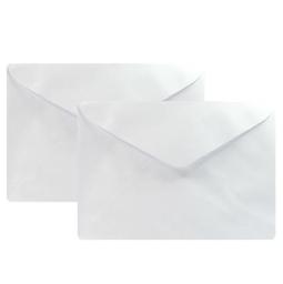 Envelope Carta RomitecOfício Linho Brc 80 g 114X229Mm 50 Und