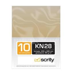 Envelope Scrity Saco Kraft Natural 80 g 200X280Mm 10 Und