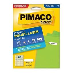 Etiqueta Adv Pimaco Inkjet Laser A5 9X32Mm Brc A5Q-932 840 Und