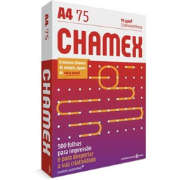 Papel Chamex A4 Sulfite 75 g Resma De 500 Und