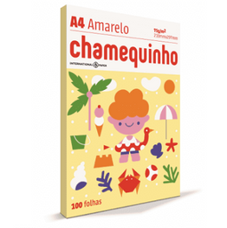 Papel Sulfite Chamex Chamequinho Amr 75Gr A4 21X29,7Cm 100 Und