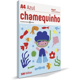 Papel Sulfite Chamex Chamequinho Azl 75Gr A4 21X29,7Cm 100 Und