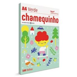 Papel Sulfite Chamex Chamequinho Verde 75Gr A4 21X29,7Cm 100 Und