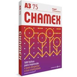 Papel Sulfite Chamex Multi A3 Brc 297X420Mm 75 g 500 Und