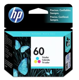 Cartucho Hp 60 Tricolor Original Cc643Wb 6,5 mL