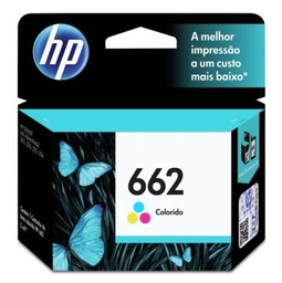 Cartucho Hp 662 Tricolor Original Cz104Ab 2 mL