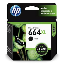 Cartucho Hp 664Xl Prt Original F6V31Ab 8,5 mL